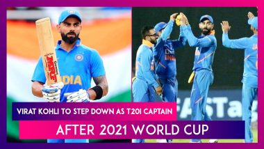 Virat Kohli To Step Down As T20I Captain After 2021 World Cup In UAE And Oman