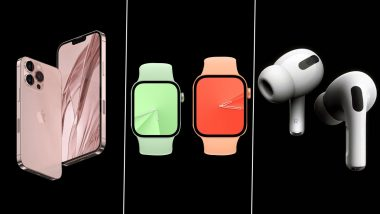 Apple Event 2021: iPhone 13 Series, Apple Watch Series 7 & AirPods 3 Launch Expected Today; Here's How To Watch Live Stream