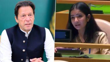 Sneha Dubey, India's First Secretary at the UN, Slams Imran Khan at UNGA; Says Pakistan Nurtures Terrorists in Their Backyard (Watch Video)