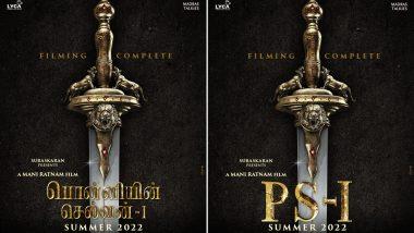 Ponniyin Selvan: It's a Wrap For Mani Ratnam's Epic Starring Vikram, Aishwarya Rai Bachchan