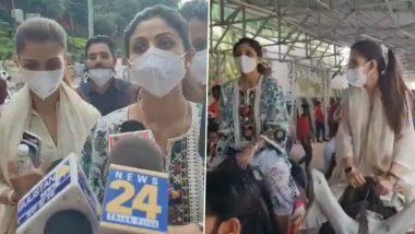 Shilpa Shetty Kundra Offers Prayers at Mata Vaishno Devi Temple Amid Her Husband Raj Kundra's Ongoing Pornography Case