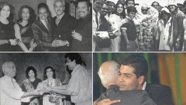 Karan Johar Remembers Father Yash Johar on His Birth Anniversary, Shares an Emotional Post (Watch Video)