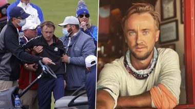 Tom Felton's Friend Shares Health Update After Actor Collapsed in Celebrity Golf Tournament