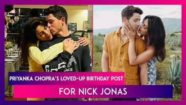 Priyanka Chopra's Loved-Up Birthday Post For Nick Jonas; The Singer Says, 'She's The Best'