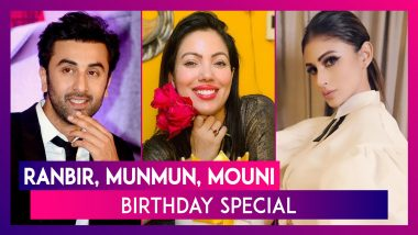Neetu Kapoor Wishes Son Ranbir Kapoor On His Birthday; Munmun Dutta & Mouni Roy Also Turn A Year Older