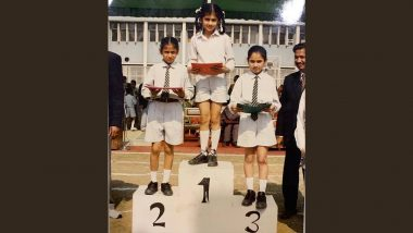 Taapsee Pannu Shares Sporty Throwback Picture From Her School Days When She Topped the Race