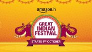 Amazon Great Indian Festival Sale 2021 Preponed; Will Now Begin on October 3
