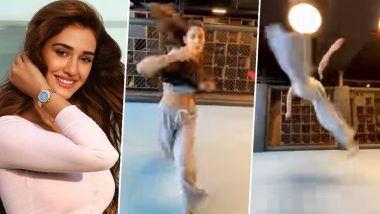 Disha Patani's Powerful Moves Unleash Her Inner Naruto As She Showcases Her Martial Arts Skill (Watch Video)