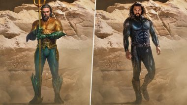 Aquaman 2: Jason Momoa Unveils His First Superhero Look From the Action Film! (View Pics)