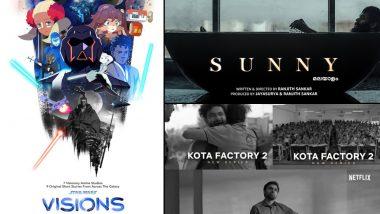 OTT Releases Of The Week: TVF's Kota Factory Season 2 on Netflix, Simu Liu's Star Wars – Visions on Disney+ Hotstar, Jayasurya's Sunny on Amazon Prime Video & More