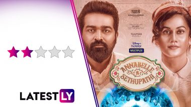 Annabelle Sethupathi Movie Review: Vijay Sethupathi-Taapsee Pannu's Love Track the Saving Grace of This Horror-Comedy (LatestLY Exclusive)