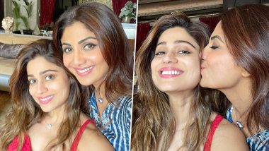 Shilpa Shetty Welcomes Sister Shamita Shetty Home With 'Tight Squeeze'