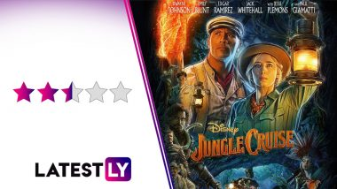 Jungle Cruise Movie Review: Dwayne Johnson, Emily Blunt's Delightful Pairing Can't Help in Ignoring the Over-Familiarity of This Adventure Romp! (LatestLY Exclusive)