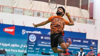 Krishna Nagar Wins Gold Medal at Tokyo Paralympics 2020 Men's Singles SH6 Badminton Final: President Ram Nath Kovind, PM Narendra Modi, Abhinav Bindra & Others Hail the Shuttler