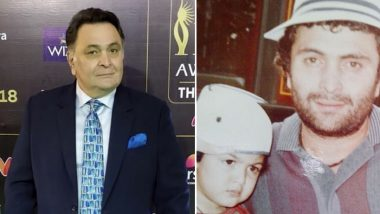 Rishi Kapoor Birth Anniversary: Daughter Riddhima Kapoor Sahni Marks Father's Special Day With a Priceless Throwback Picture