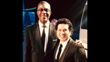 Michael Holding Retires From Commentary: Sachin Tendulkar Congratulates West Indies Legend On Wonderful Career (See Post)
