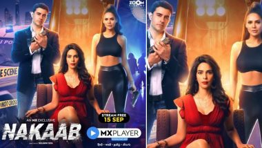 Nakaab: Esha Gupta, Mallika Sherawat Unmask Their Characters in Investigative-Thriller Series, To Stream on MX Player From September 15