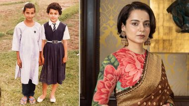 Kangana Ranaut Recalls Her School Days, Shares Pictures From Childhood!