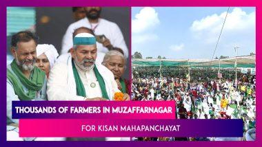 Farmer Protests Against Farm Laws: Thousands Of Farmers In Muzaffarnagar For Kisan Mahapanchayat