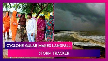 Cyclone Gulab Makes Landfall Between Kalingapatnam & Gopalpur As Cyclonic Storm On India's East Coast | Storm Tracker