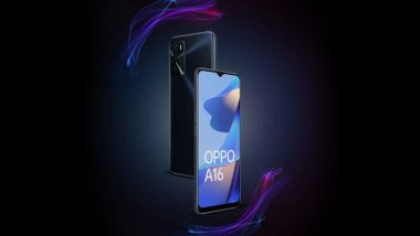 Oppo A16 Smartphone To Be Available for Sale in India Tomorrow via Amazon at 12 PM IST