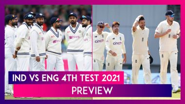 IND vs ENG 4th Test 2021 Preview & Playing XI: Teams Look To Gain Unassailable Lead