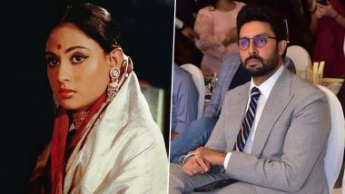 Abhishek Bachchan Shares Beautiful Throwback Pictures of Mother Jaya Bachchan As She Completes 50 Years in Bollywood
