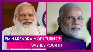 PM Narendra Modi Turns 71; Wishes Pour In From Rahul Gandhi, President Ram Nath Kovind, Amit Shah, Virat Kohli, Abhishek Bachchan & Many Others