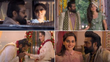Annabelle Song Vaanil Pogum Megham: Vijay Sethupathi Is Falling for Taapsee Pannu in This Soothing Love Track (Watch Video)