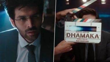 Dhamaka at TUDUM 2021: Kartik Aaryan's Netflix's Thriller New Promo Looks Engrossing! (Watch Video)