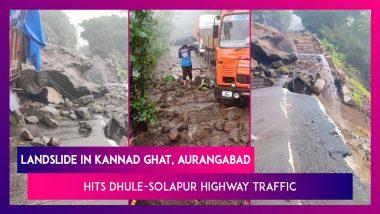 Aurangabad: Landslide In Kannad Ghat Hits Dhule-Solapur Highway Traffic