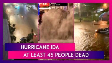 New York, New Jersey Under Emergency Orders As Hurricane Ida-Caused Flash Floods Overwhelm US East Coast, At Least 45 Dead