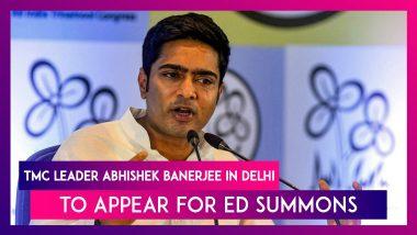 Abhishek Banerjee, TMC Leader, In Delhi To Appear For Enforcement Directorate Summons