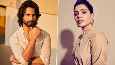 Shahid Kapoor Praises Samantha Akkineni for Her Role in The Family Man 2, Says 'Would Love To Work With Her Some Time'