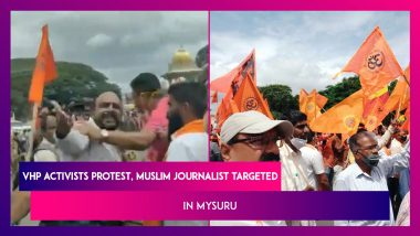 Mysuru: Temple Demolished On Court Orders, VHP Activists Take To The Streets, Muslim Journalist Targeted