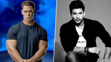 John Cena Pays Tribute to Sidharth Shukla, Shares a Picture of the Late Actor in His Instagram