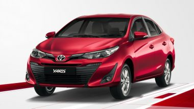 Toyota to Stop Selling Mid-Sized Sedan Yaris in India