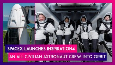 SpaceX Launches Inspiration4, An All Civilian Astronaut Crew Into Orbit, All About It