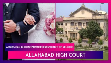 Allahabad High Court: Adults Have Right To Choose Matrimonial Partner Irrespective Of Religion