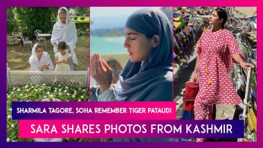 Sharmila Tagore, Soha Ali Khan Remember Tiger Pataudi On His 10th Death Anniversary; Sara Ali Khan Shares Photos From Kashmir