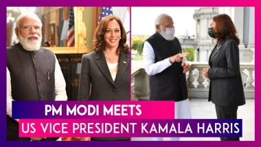 PM Modi Meets US Vice President Kamala Harris, Thanks Her Administration For Help During Covid-19 Second Wave