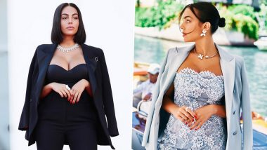 Cristiano Ronaldo's Girlfriend Georgina Rodriguez Looks Gorgeous In Voguish Outfits As She Attends Venice Film Festival, See Photos