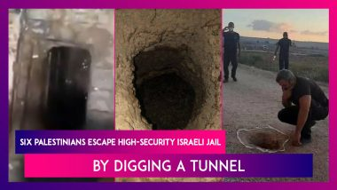 Prison-Break: Six Palestinians Escape High-Security Israeli Jail By Digging A Tunnel