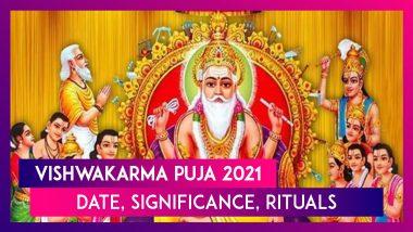 Vishwakarma Puja 2021: Date, Significance, Rituals, Shubh Muhurat Of The Day Dedicated To Lord Vishwakarma