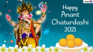 Anant Chaturdashi 2021: Ganpati Visarjan Slogans To Chant and Messages To Share on the Auspicious Day