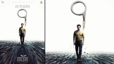 Sivakarthikeyan's Doctor to Hit Cinemas on October 9, Check Out the Stunning New Poster