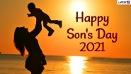 Son's Day 2021 Date With Greetings, WhatsApp Messages, Quotes, HD Images, Wallpapers and Wishes To Celebrate National Sons Day