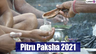 Pitru Paksha 2021 Starts on This Date, Shradh Dos and Don'ts: From Tarpan Rituals to Not Buying New Clothes, Things to Keep in Mind During This Auspicious Period of Paying Homage to the Ancestors