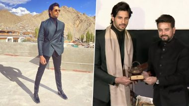 Sidharth Malhotra Shares Thoughts on Being Honoured at the Himalayan Film Festival