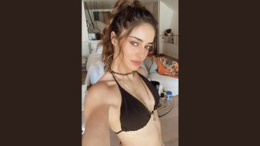 Ananya Panday Is a 'Hot Mess' As She Poses in a Black Bikini in Her Latest Instagram Post!